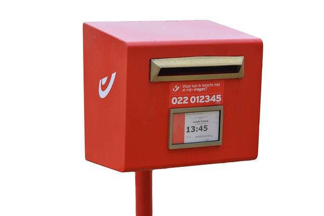 poštovní schárnka