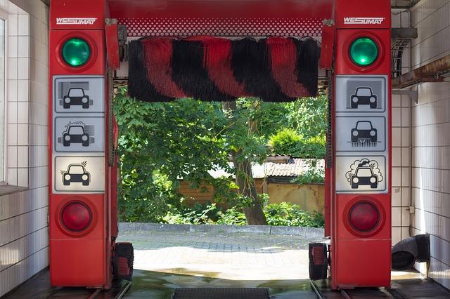 moderní automyčka