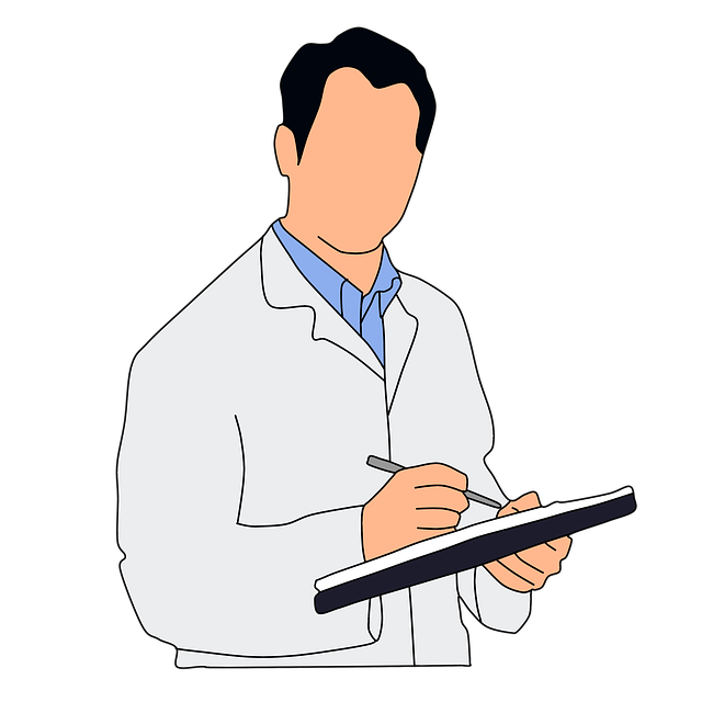 postava lékaře