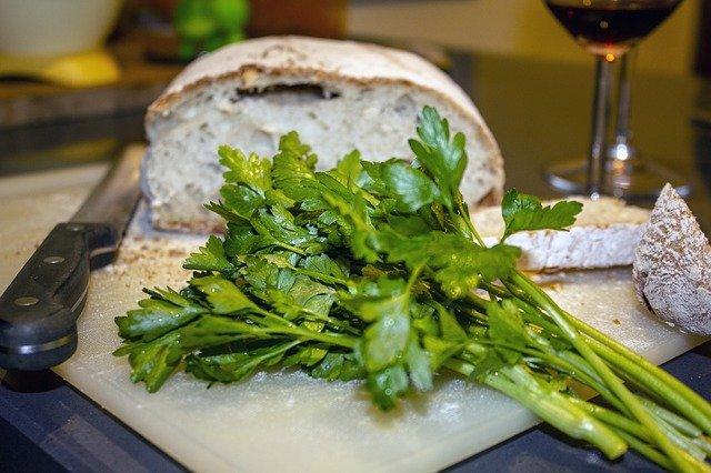 petržel u chleba