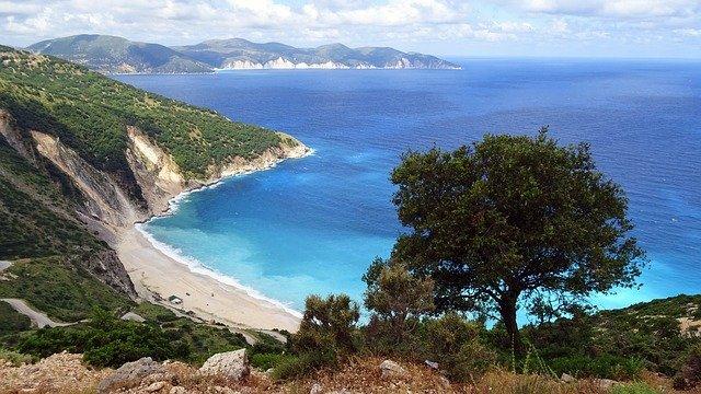 pobřeží Kefalonie