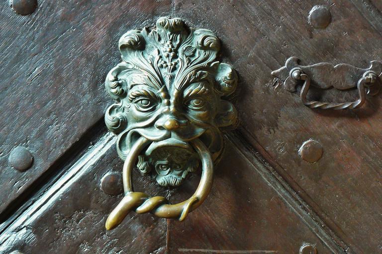 starodávne dveře