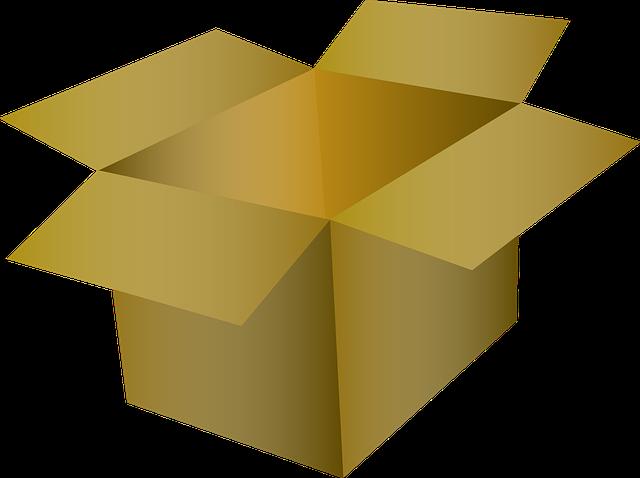 Krabice vhodné ke stěhování